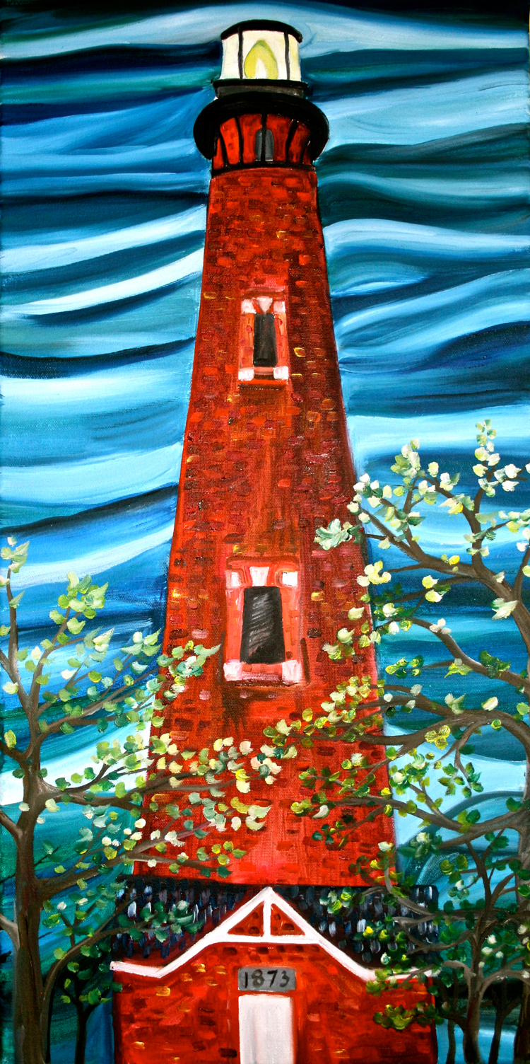 Currituck Beach Lighthouse Outer Banks Painting Parties Amp Classes Local Color