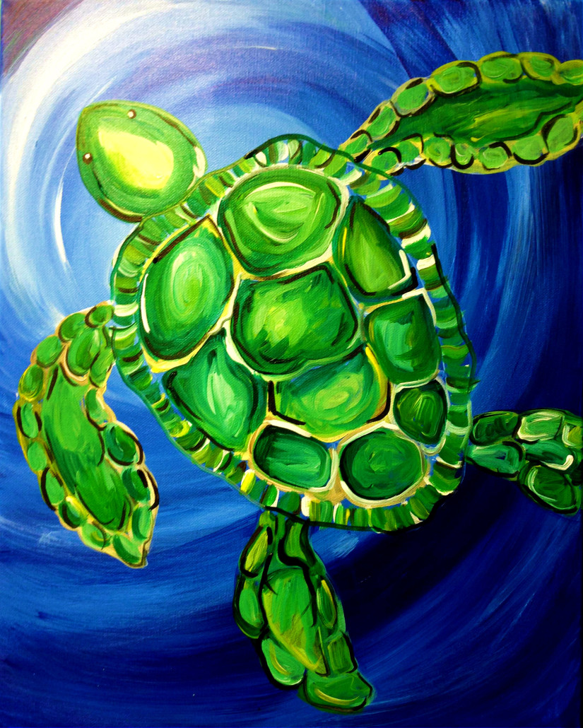 Painting Classes | Wine & Painting Parties: Tortuga Bay: July 7th ...